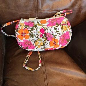 Vera Bradley Tea Garden Frannie Crossbody Bag